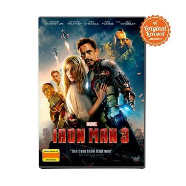 harga Marvel Iron Man 3 (Caged) DVD Film Blibli.com