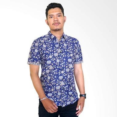 Masani Slimfit Batik Baju Batik Pria Series 47 C