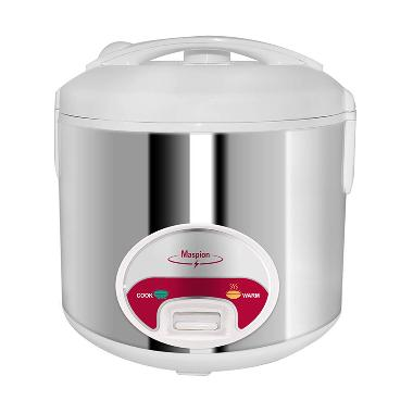 Maspion 109 Stainless Steel Rice Cooker [1.2 L]