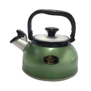 Maspion Whistling Kettle Green [3.0 Liter]