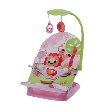 Mastela Fold Up Infant Seat Baby Bouncer with Toys 07220 - Pink
