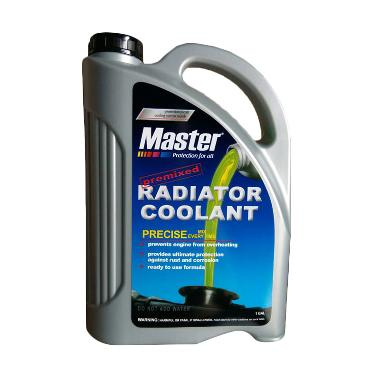 Master Premixed Radiator Coolant Air Radiator - Hijau [3.78 L]