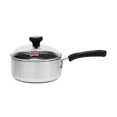 Maxim New Commercial Sauce Pan with Glass Cover [18 cm/2 qt]