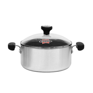 Maxim New Commercial Dutch Oven with Glass Cover [22 cm/4 qt]