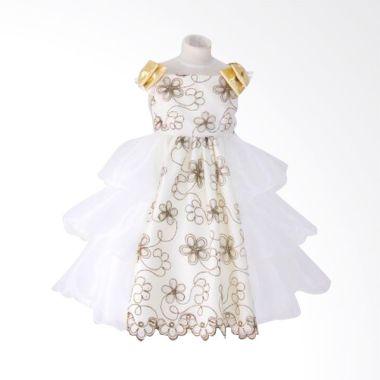 Megumi House Bianca Putih Dress Ana ...