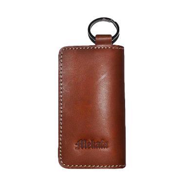 Mekafa Leather Key Wallet Dompet STNK - Brown