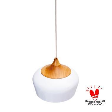 Mendekor Pendant Light Dolak Lampu Gantung - Putih