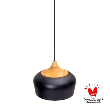 Mendekor Pendant Light Dolak Lampu Gantung - Hitam