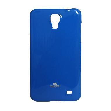 Mercury Dark Blue Softcase Casing for Samsung Mega 2