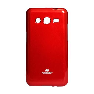 Mercury Jelly Case for Samsung Core 2 - Red