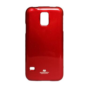 Mercury Red Softcase Casing for Samsung S5