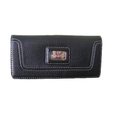 harga Michael Kors Brookville Carry All Dompet Wanita - Black Blibli.com