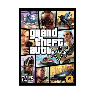 Microsoft Grand Theft Auto V (GTA V) PC Game