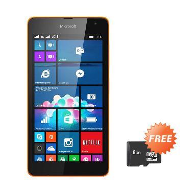 Jual Microsoft Lumia 535 Smartphone - Orange [8 GB] + Free MicroSD 8GB Harga Rp 1725000. Beli Sekarang dan Dapatkan Diskonnya.