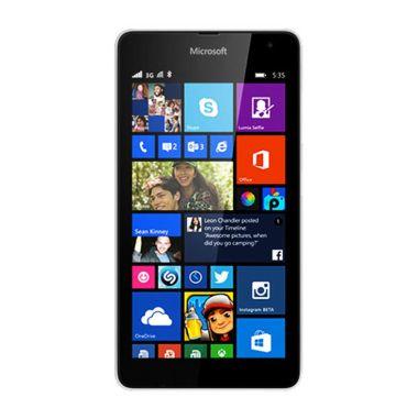 Jual Microsoft Lumia 535 Smartphone - White [8GB/ 1GB/ Dual SIM] Harga Rp 969000. Beli Sekarang dan Dapatkan Diskonnya.