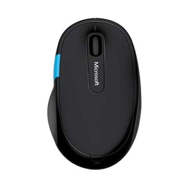 harga Microsoft Sculpt Comfort Bluetrack Bluetooth Mouse - Black Blibli.com