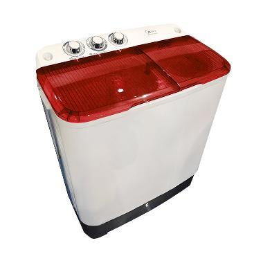 Midea MTA77 Mesin Cuci - Merah [2 Tabung]