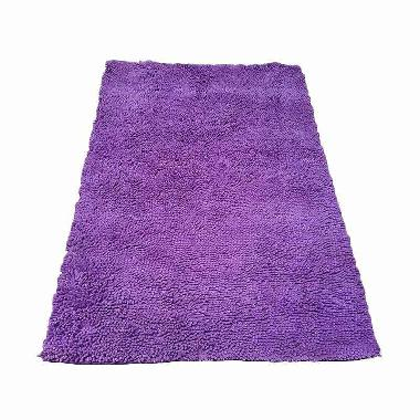 Karpet Cendol Doff - Ungu [100 x 150 cm]
