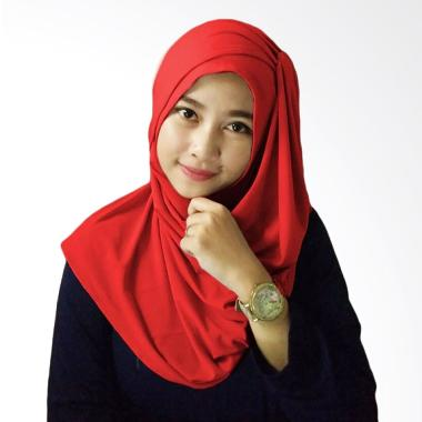 Milyarda Hijab Alesya - Merah
