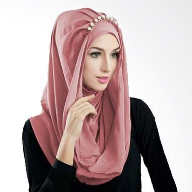 Milyarda Hijab Deeja Prealy Bergo - Dusty Pink