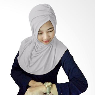Milyarda Hijab Medira Hijab - Abu-abu