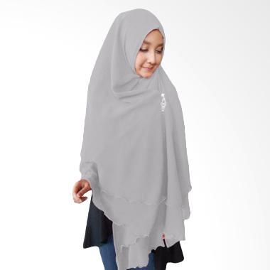 Milyarda Hijab Oki Panjang Kerudung Syar'i - Abu-Abu