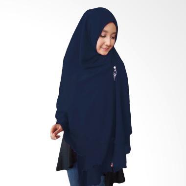 Milyarda Hijab Oki Panjang Kerudung Syar'i - Biru Dongker