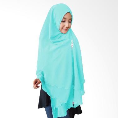 Milyarda Hijab Oki Panjang Kerudung Syar'i - Biru
