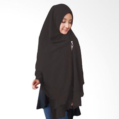 Milyarda Hijab Oki Panjang Kerudung Syar'i - Hitam
