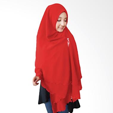 Milyarda Hijab Oki Panjang Kerudung Syar'i - Merah