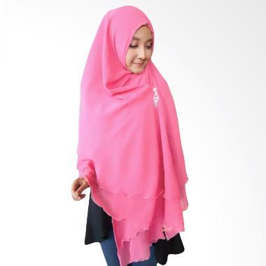 Milyarda Hijab Oki Panjang Kerudung Syar'i - Pink