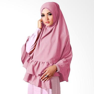 Milyarda Hijab Taj Mahal Kerudung Syar'i - Dusty Pink