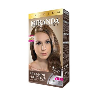 Miranda Premium Hair Color - Cokelat