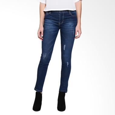 Miss Me Denim 730158 Blue Black Celana Panjang Wanita