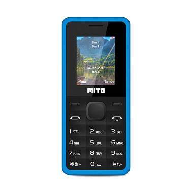 Mito 168 Candybar Handphone - Blue