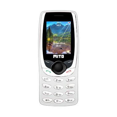 Mito 268 Candybar Handphone - White