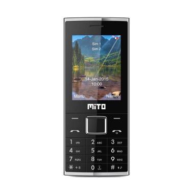 Mito 322 New Handphone - Hitam