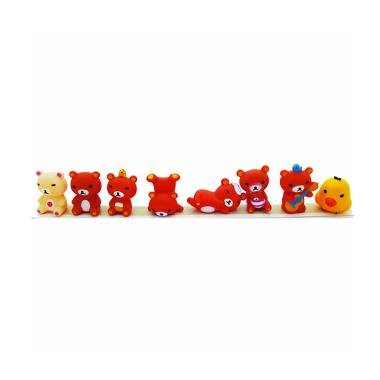 MJ Boneka Figure Cute Rilakuma Action Figure [Set 8]