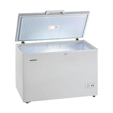 Modena MD 30 Silver Chest Freezer [300 L] [Kab.Bandung}