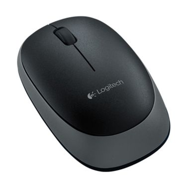Logitech M165 Black Wireless Mouse  ...