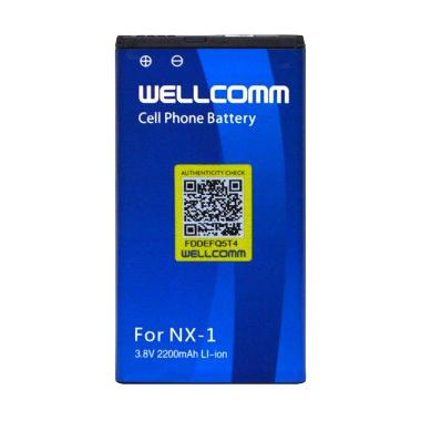 Wellcomm Battery Double IC for Blackberry NX1
