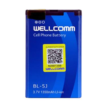Wellcomm BL-5J Double IC Battery