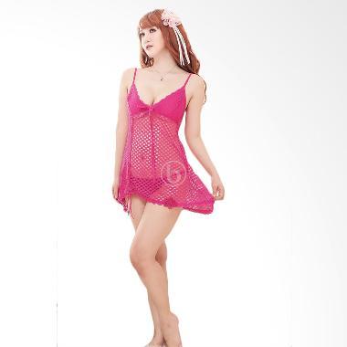 Moi Moi Sexy 6302 Pink Dress Web Lingerie