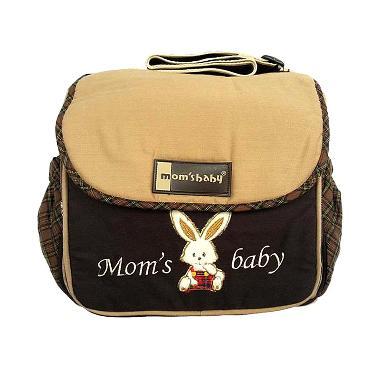 Moms Baby MBT301100 Saku Tutup Bordir Tas Bayi - Coklat