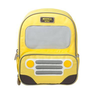 Moosca Kids Bus Tas Ransel Anak - Blazing Yellow