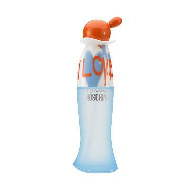 Moschino Cheap & Chic I Love Love EDT Parfum Wanita [100 ML]