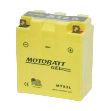 MEGA - Motobatt Gel MTX3L Aki Motor