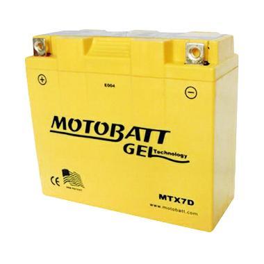 Motobatt Gel MTX7D Aki Motor