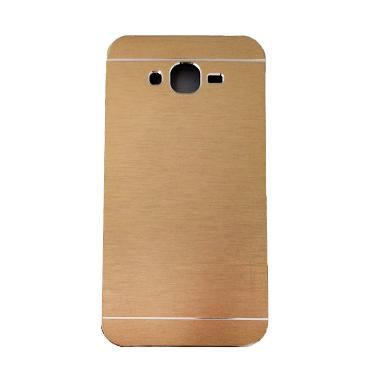 Motomo Hardcase Casing for Samsung Galaxy J5 J500F - Gold