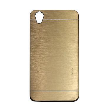 Motomo Hardcase Casing for Oppo Neo 9 A37 - Gold